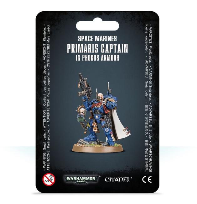 48-68 SM Primaris Captain in Phobos Armour