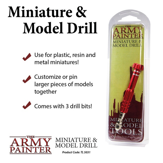Miniature & Model Drill