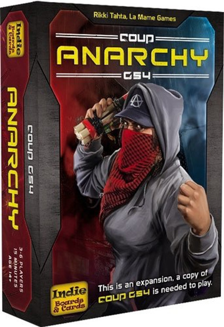 Coup Rebellion G54: Anarchy