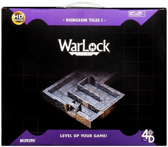 Warlock Tiles: Dungeon Tiles