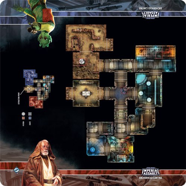 Imperial Assault: Anchorhead Cantina Map