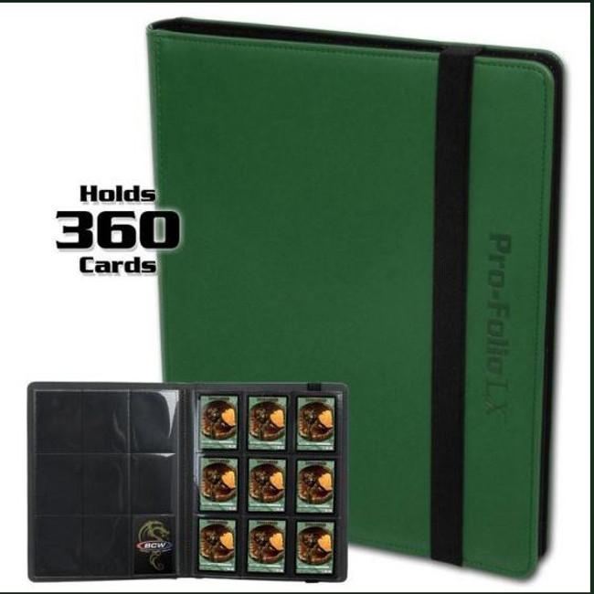 BCW Pro-Folio LX Green