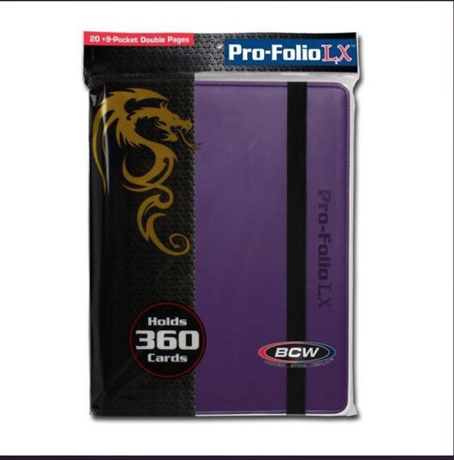 BCW Pro-Folio LX Purple