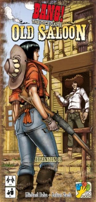 Bang Dice Game: Old Saloon