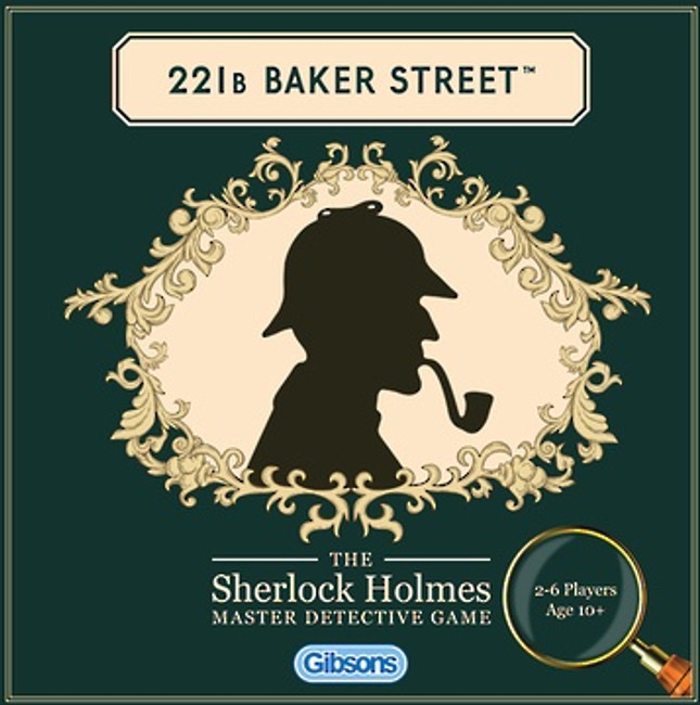 221B Baker Street -The Sherlock Holmes Master Detective Game
