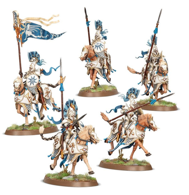 87-60 Lumineth Realm-Lords: Vanari Dawnriders