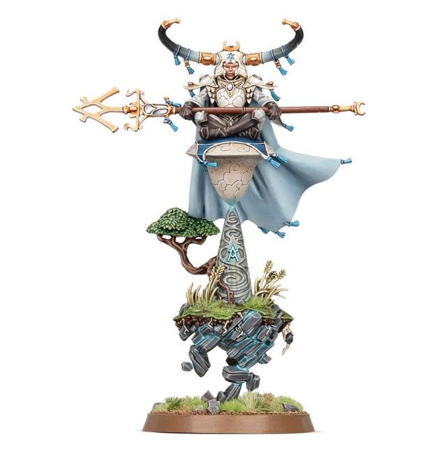 87-55 Lumineth Realm-Lords: Alarith Stonemage