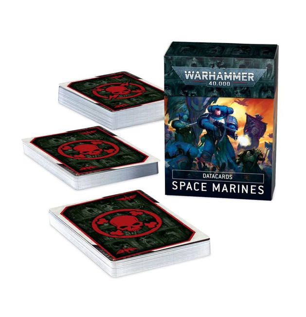 48-02 Datacards: Space Marines 2020