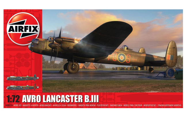 Avro Lancaster B.III 1:72 Scale Model Kit