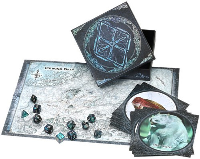 Icewind Dale Frostmaiden Dice & Miscellany