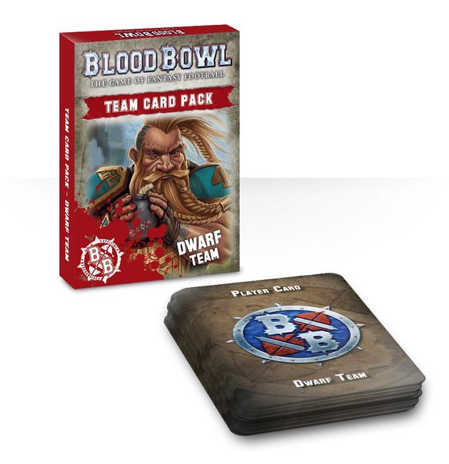 200-45-60 Blood Bowl Team Card Pack – Dwarves