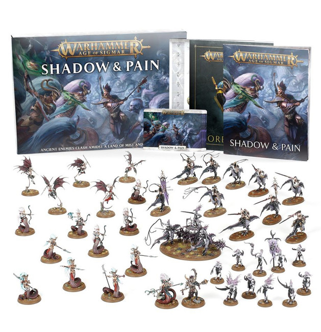 80-37 Age of Sigmar: Shadow and Pain Core Game