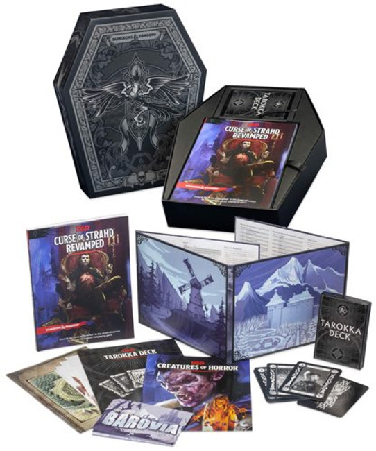 Dungeons and Dragons: Curse of the Strahd Revamped