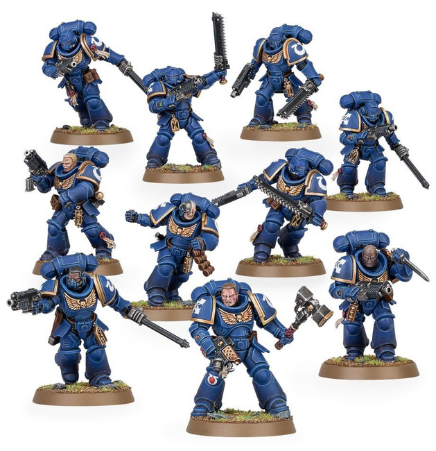 48-36 Space Marines: Assault Intercessors