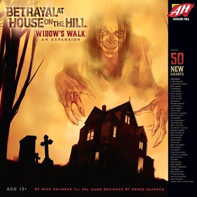 Betrayal at House on the Hill: Widows Walk
