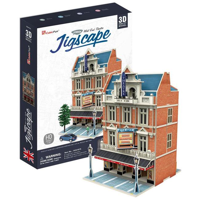 3D PUZZLE - WEST END THEATRE - JIGSCAPE