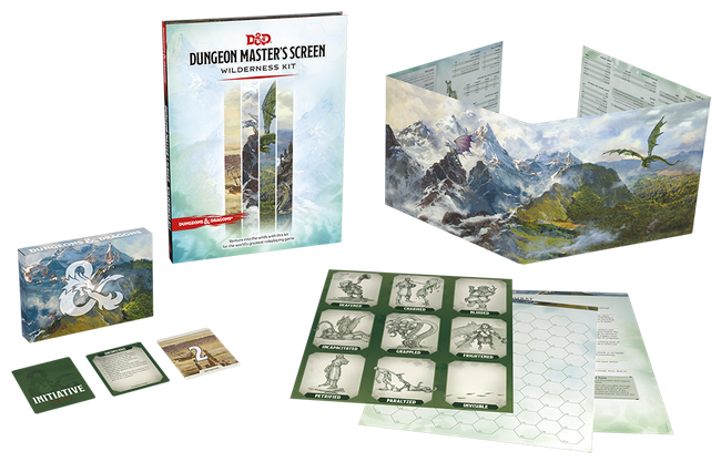 Dungeon Master Screen: Wilderness Kit