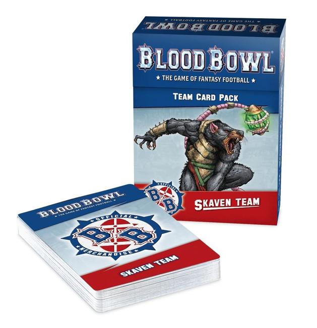 200-41 Blood Bowl: Skaven Team Cards