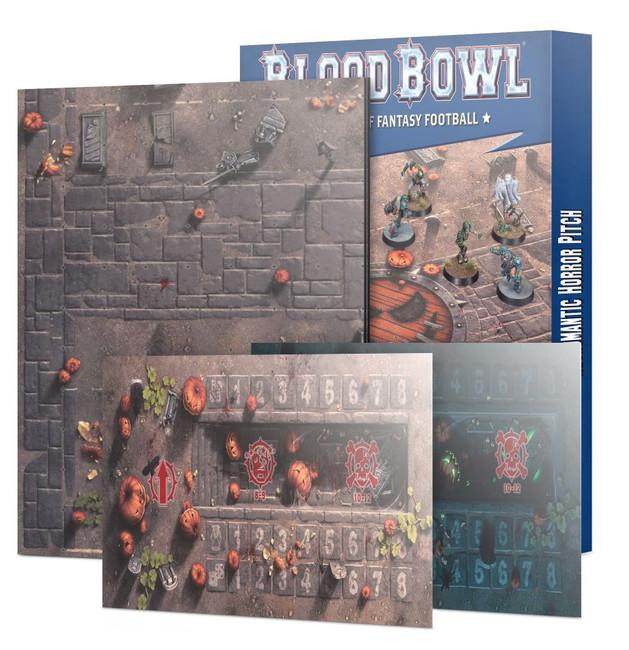 202-11 Blood Bowl: Necromantic Team Pitch