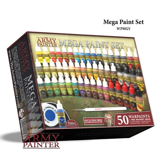Army Painter Warpaints: Mega Paint Set