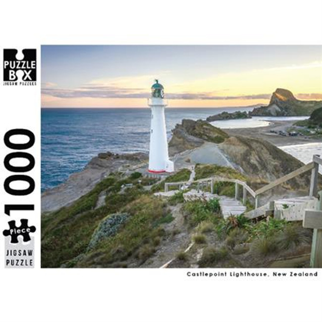 Puzzle Master 1000pc: Castlepoint