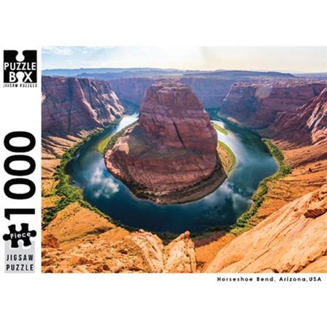 Puzzle Master 1000pc: Horseshoe Bend