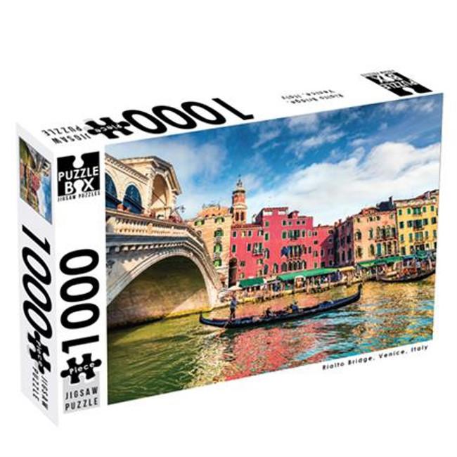 Puzzle Master 1000pc: Rialto Bridge
