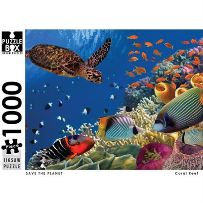 Puzzle Master 1000pc: Save the Planet - Coral Reef