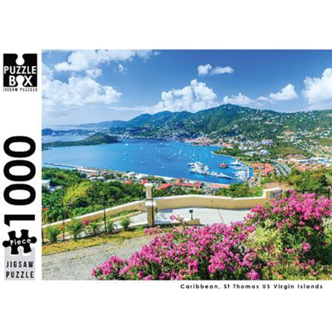Puzzle Master 1000pc: St Thomas US Virgin Island