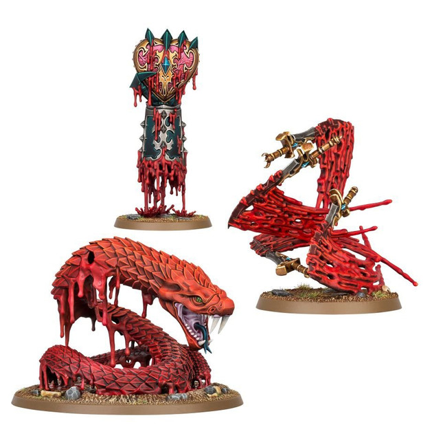 85-22 Daughters of Khaine: Endless Spells