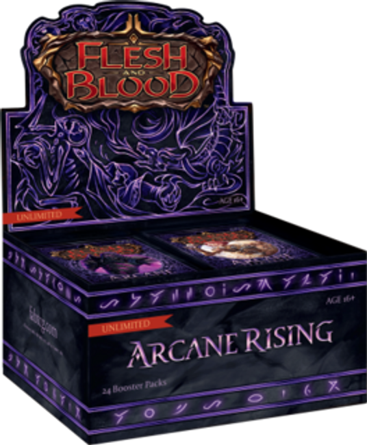 Arcane Rising - Unlimited Edition Booster Display