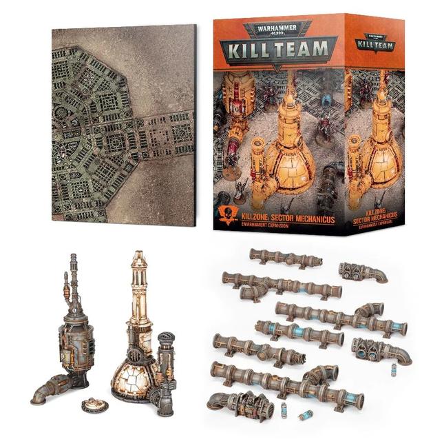 102-56 Killzone: Mechanicus Refinery