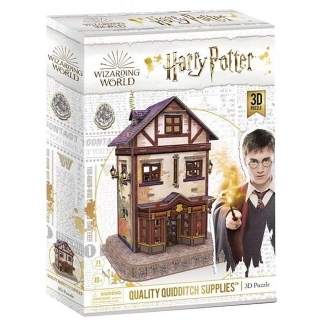 3D Harry Potter Puzzle – Quidditch Supplies