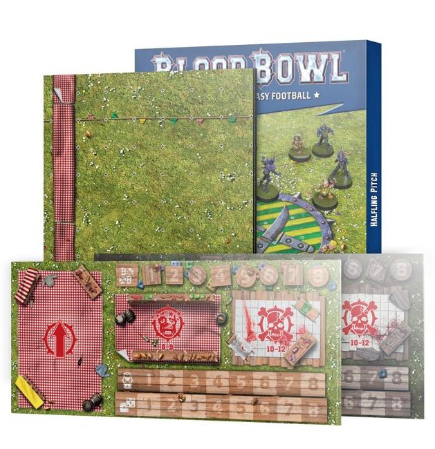 200-67 Blood Bowl: Halfling Team Pitch & Dugout 2021