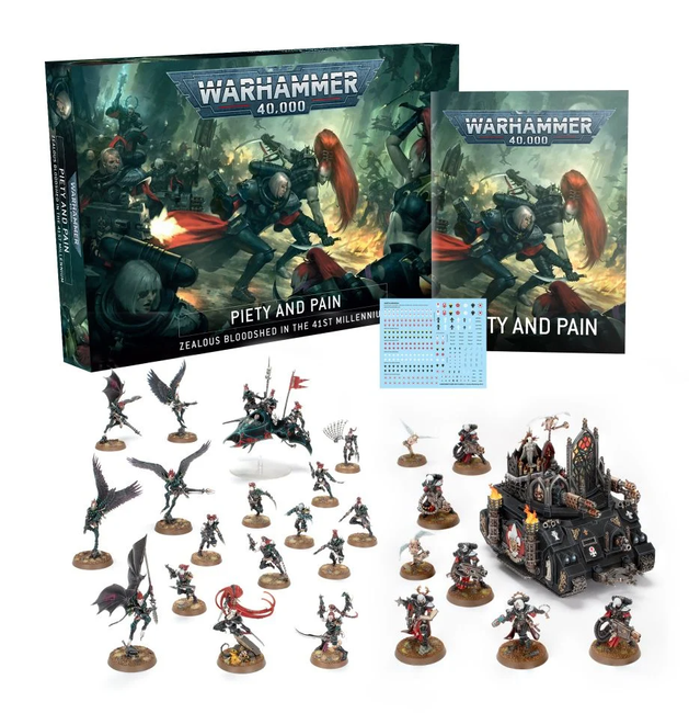 PP-60 WH 40K: Piety and Pain Core Game 2021