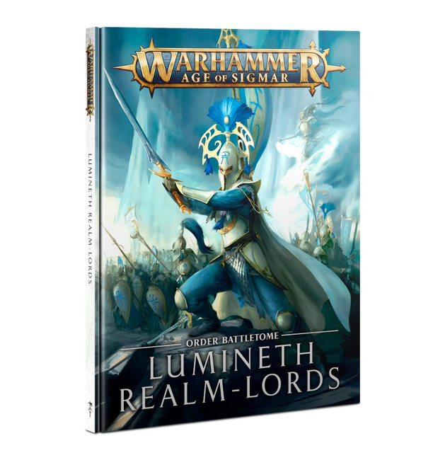 87-04 Battletome: Lumineth Realm-Lords HB 2021