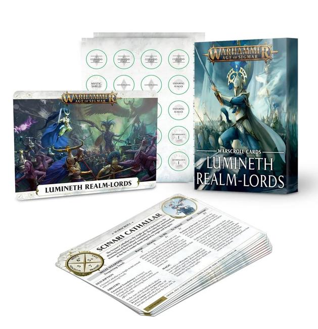 87-03 Warscrolls: Lumineth Realm-Lords 2021