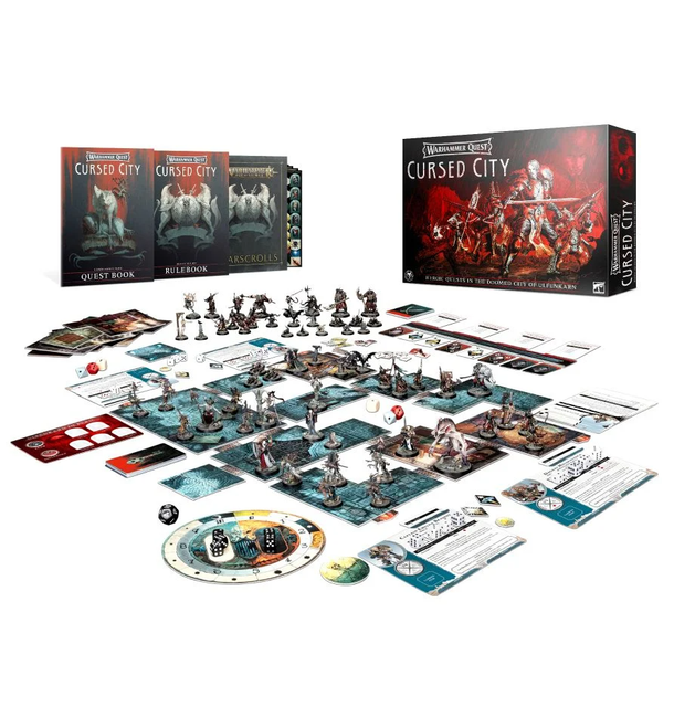 WQ-05 Warhammer Quest: Cursed City Core Game