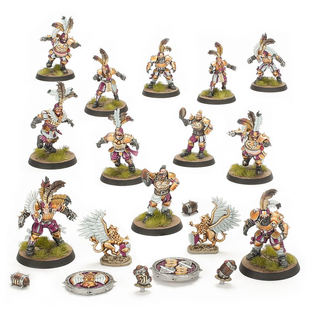 202-13 Blood Bowl: Imperial Nobility Team