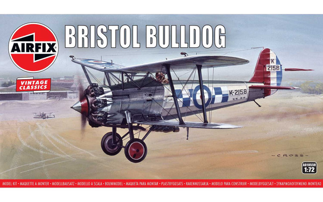 Bristol Bulldog: 1:76 Scale Model Kit