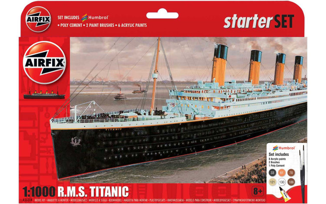 R.M.S Titanic Gift Set: 1:1000 Scale Model kit