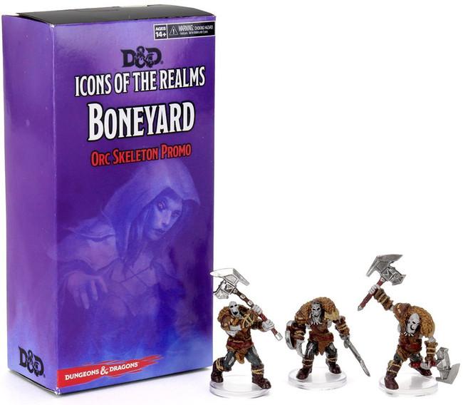 D&D IotR: W14:  Boneyard Orc Skeleton Promo Pack