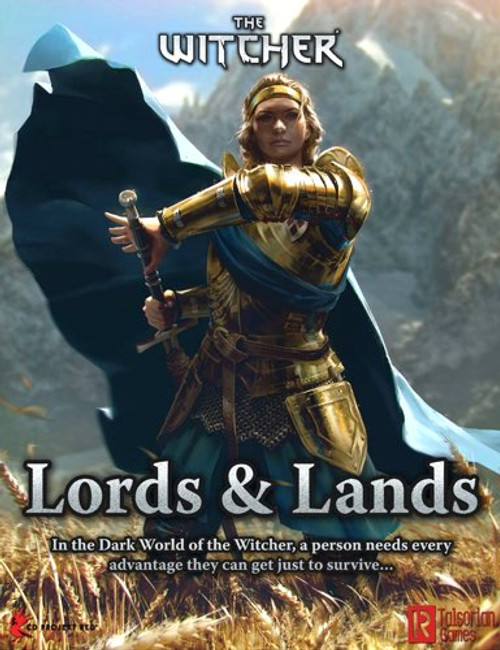 The Witcher RPG: GM Screen - Lords and Lands
