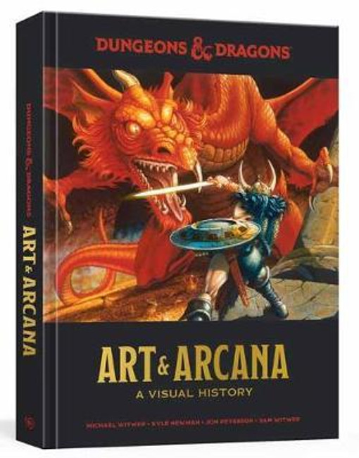 Dungeons & Dragons Art and Arcana HB