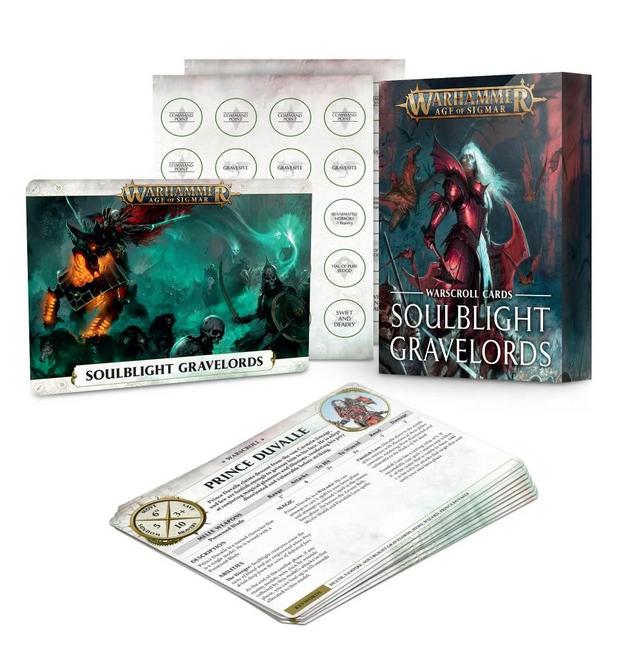 91-05 Soulblight Gravelords: Warscrolls