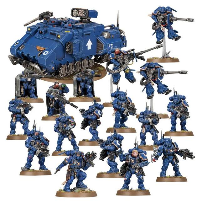 48-80 Combat Patrol: Space Marines