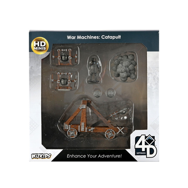 4D War Machines: Catapult