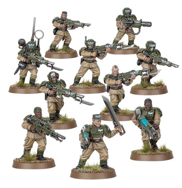 47-17 Astra Militarum: Cadian Shock Troops