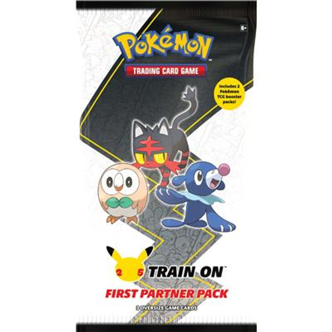 Train On First Partner Pack - Alola