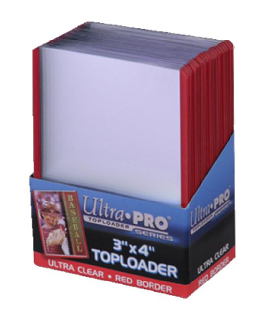 ULTRA PRO Top Loader - 3 x 4 35pt Red